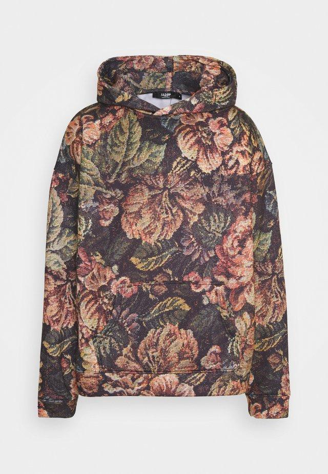VINTAGE PRINTED HOODIE - Sweatshirt - floral
