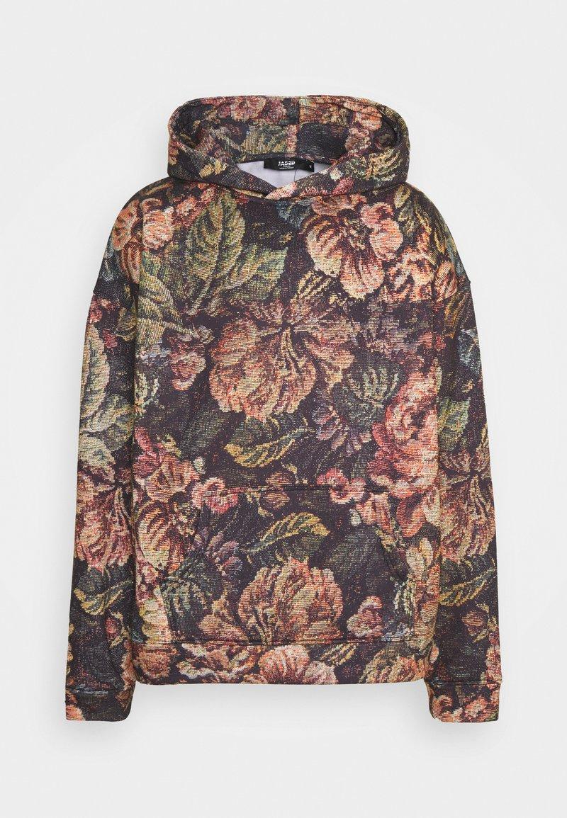 Jaded London - VINTAGE PRINTED HOODIE - Sweatshirt - floral