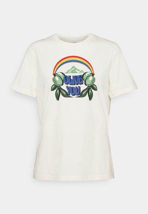OLIVE YOU  - T-shirt imprimé - new ivory
