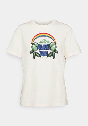 OLIVE YOU  - Print T-shirt - new ivory
