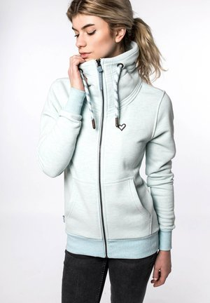 VIVIAN W - Zip-up hoodie - light blue