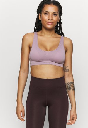 ONPMIRA LOUNGE SPORTS BRA - Light support sports bra - elderberry