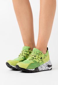 Steve Madden - CLIFF - Sneakers - lime/multicolor - 0