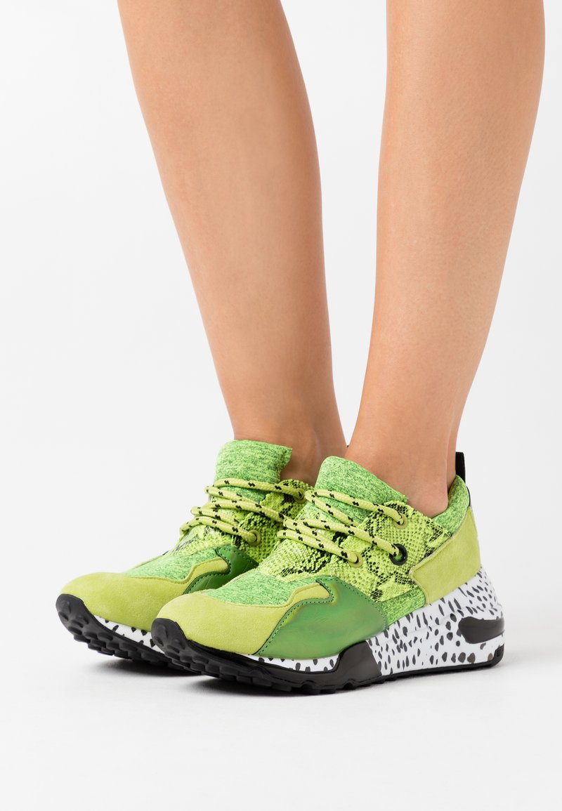 Steve Madden - CLIFF - Sneakers - lime/multicolor
