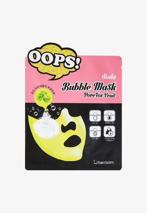 BUBBLE MASK PORETOX FRUIT 3 PACK - Gesichtsmaske - neutral