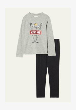 SET - Pyjama set - grigio mel.chiaro st.kiss me