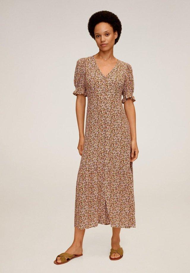 PAT - Korte jurk - pastellgelb