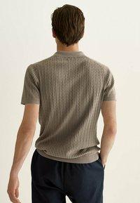 Massimo Dutti - Polo shirt - brown - 1