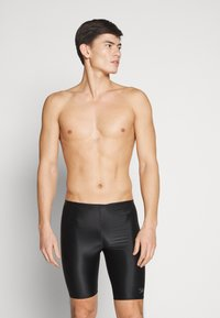 Speedo - PLACEMENT JAMMER - Swimming trunks - black/oxid grey - 0
