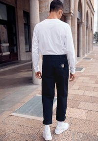 Carhartt WIP - DOUBLE KNEE PANT DEARBORN - Pantalon classique - black rinsed - 2