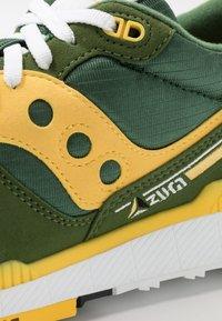 Saucony - AZURA - Sneaker low - green/yellow - 5
