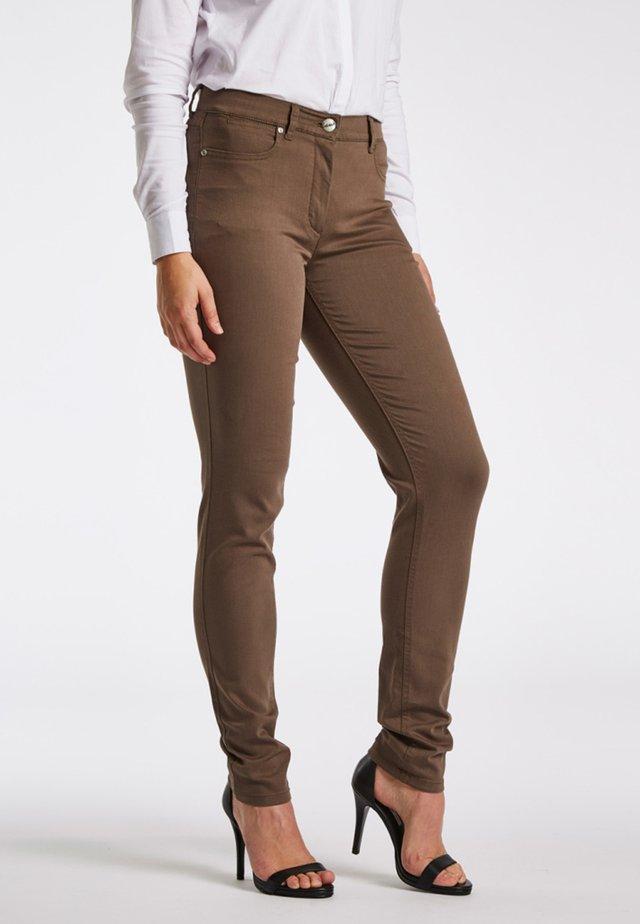 LAURA - Jeans Skinny - brown