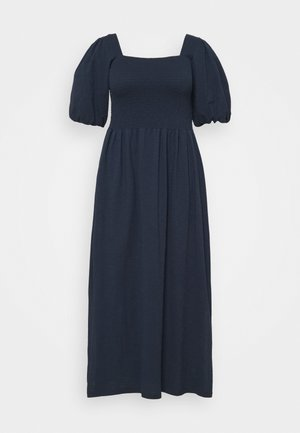 VMALINA ANKLE SMOCK DRESS  - Maxi dress - navy blazer