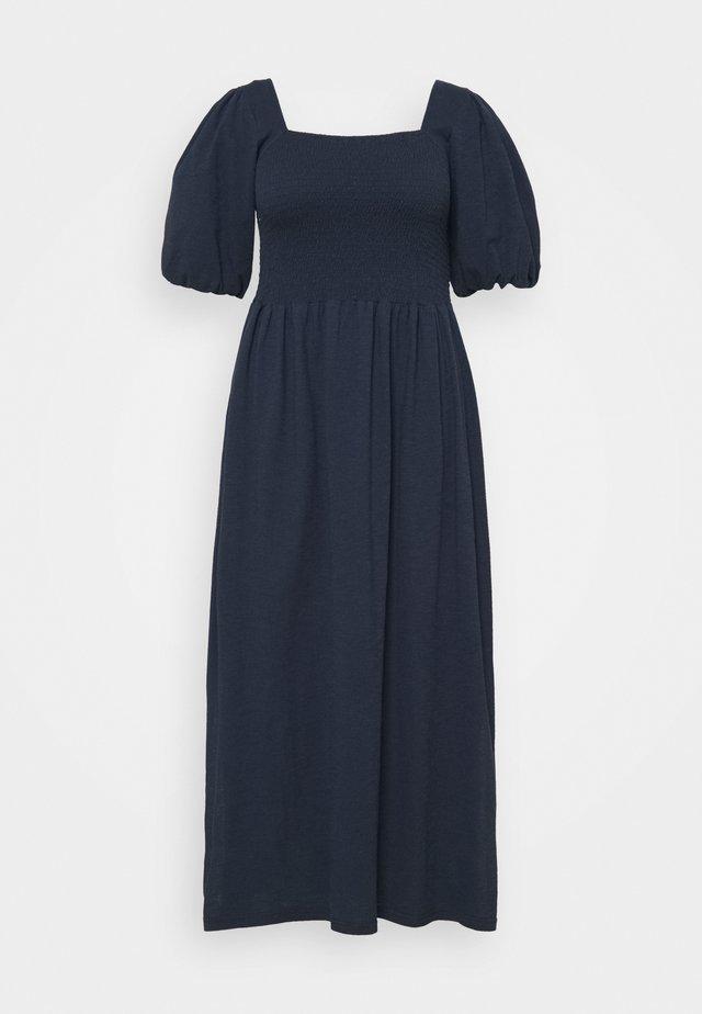 VMALINA ANKLE SMOCK DRESS  - Maxi-jurk - navy blazer