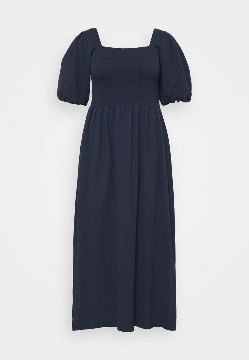 Vero Moda Curve - VMALINA ANKLE SMOCK DRESS  - Maxi dress - navy blazer
