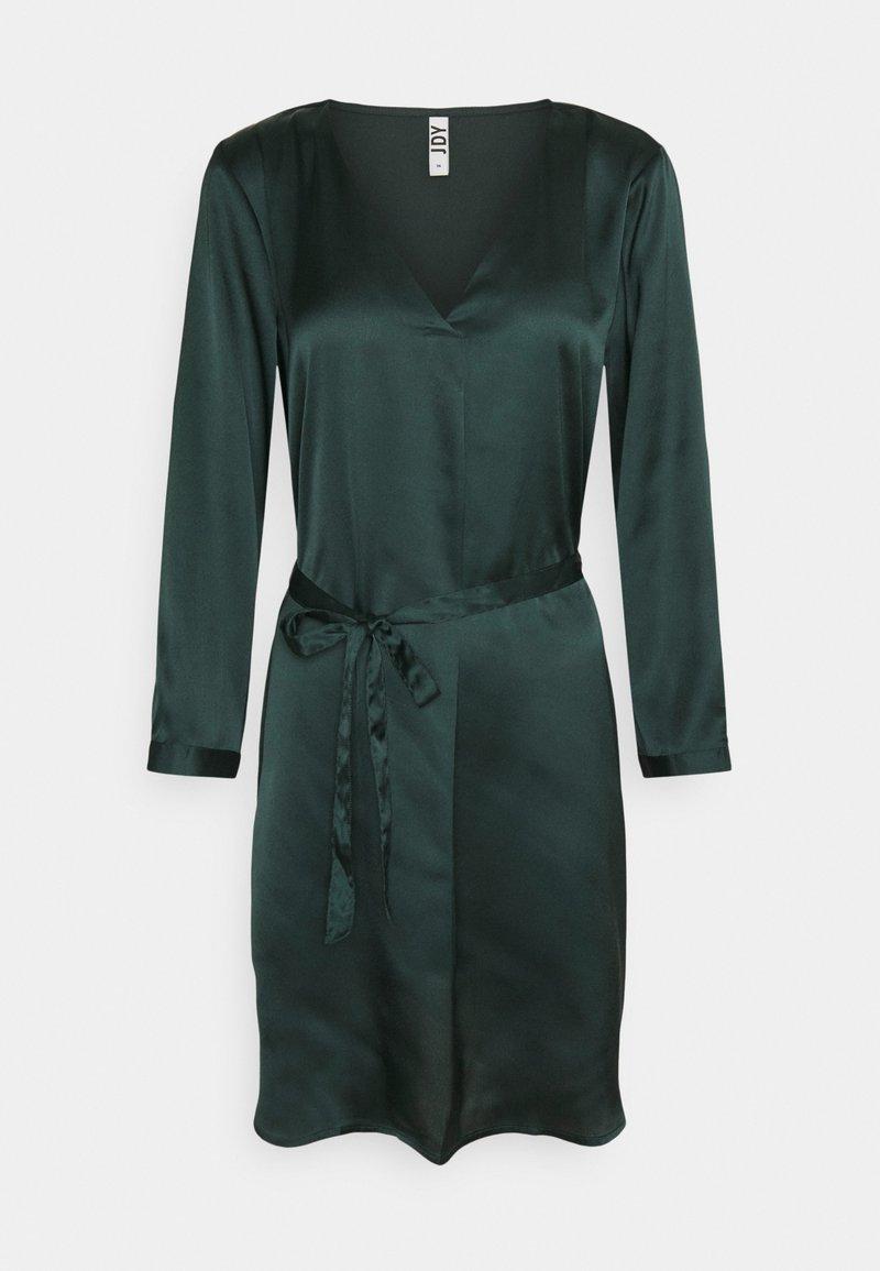JDY - JDYFIFI SHORT DRESS - Denní šaty - scarab