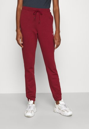 GABBY TROUSER - Pantaloni sportivi - burgudy red