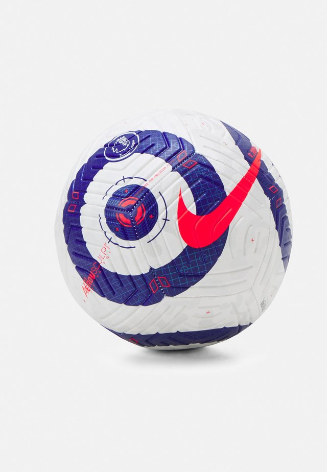 PREMIER LEAGUE STRIKE UNISEX - Voetbal - white/blue/laser crimson