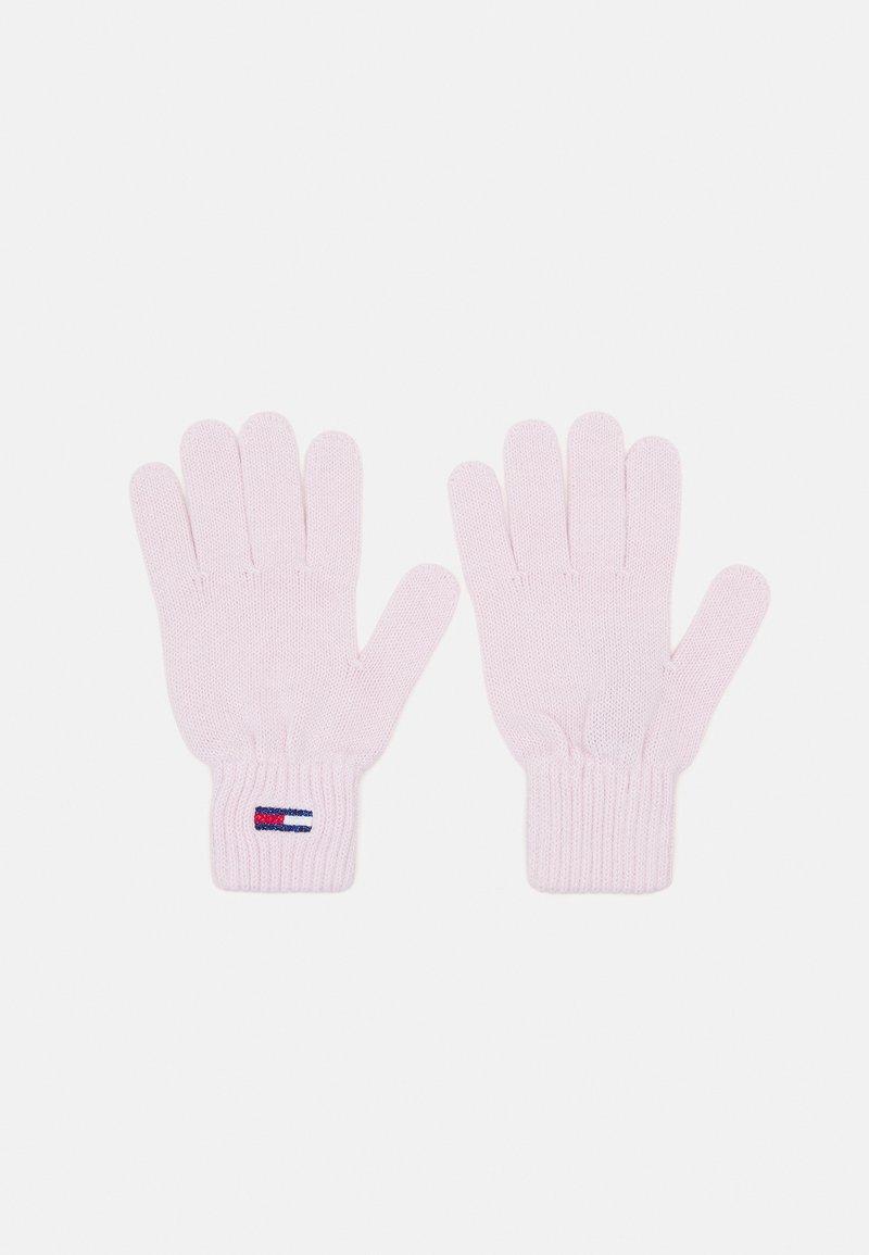 Tommy Jeans - FLAG GLOVE - Gloves - pale pink