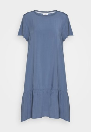 DRESS FRILL SKIRT - Day dress - blue fantasy