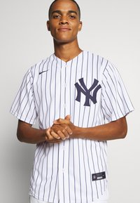 Nike Performance - MLB NEW YORK YANKEES OFFICIAL REPLICA HOME - Klubové oblečení - white/navy - 3