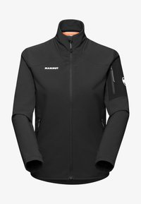 Mammut - MADRIS - Giacca in pile - black white - 2