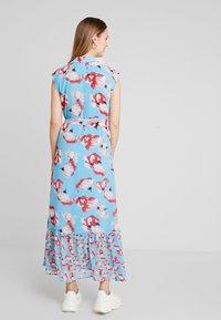 YAS - YASVAMILLA ANKLE DRESS  - Maxi dress - bonnie blue/vamilla - 3