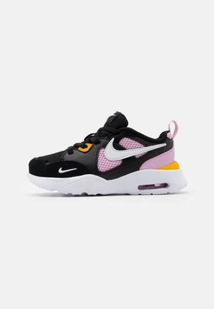 AIR MAX FUSION - Matalavartiset tennarit - black/white/light arctic pink/dark sulfur