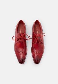 Melvin & Hamilton - ELVIS - Šněrovací boty - ruby - 3