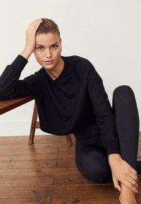 Mango - HYGGE - Sweatshirt - schwarz - 3