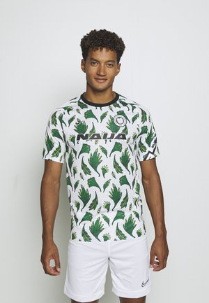 NFF NIGERIA NIGERIA - National team wear - white/pine green/black