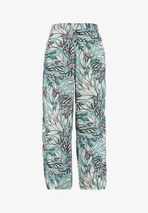 Flared Jeans - multi green-khaki