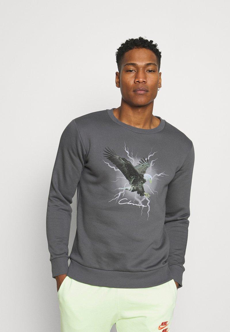 CLOSURE London - EAGLE CREW - Sweatshirt - anthrazit