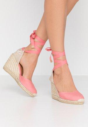 CARINA  - High heeled sandals - rosa chicle