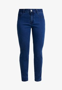Missguided Petite - ANARCHY MID RISE - Jeans Skinny Fit - indigo - 4