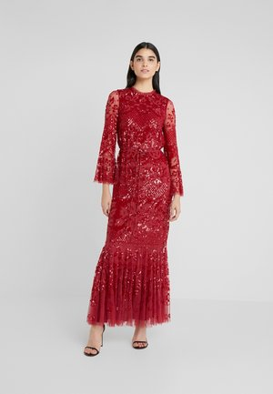 SNOWDROP GOWN - Abito da sera - cherry red