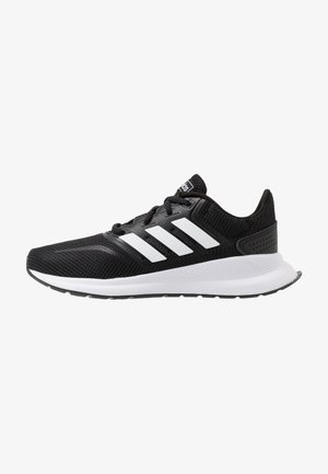 RUNFALCON UNISEX - Neutral running shoes - core black/footwear white