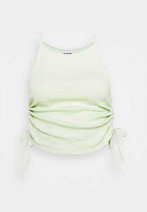 NMSTINE ROUCHING - Top - fog green