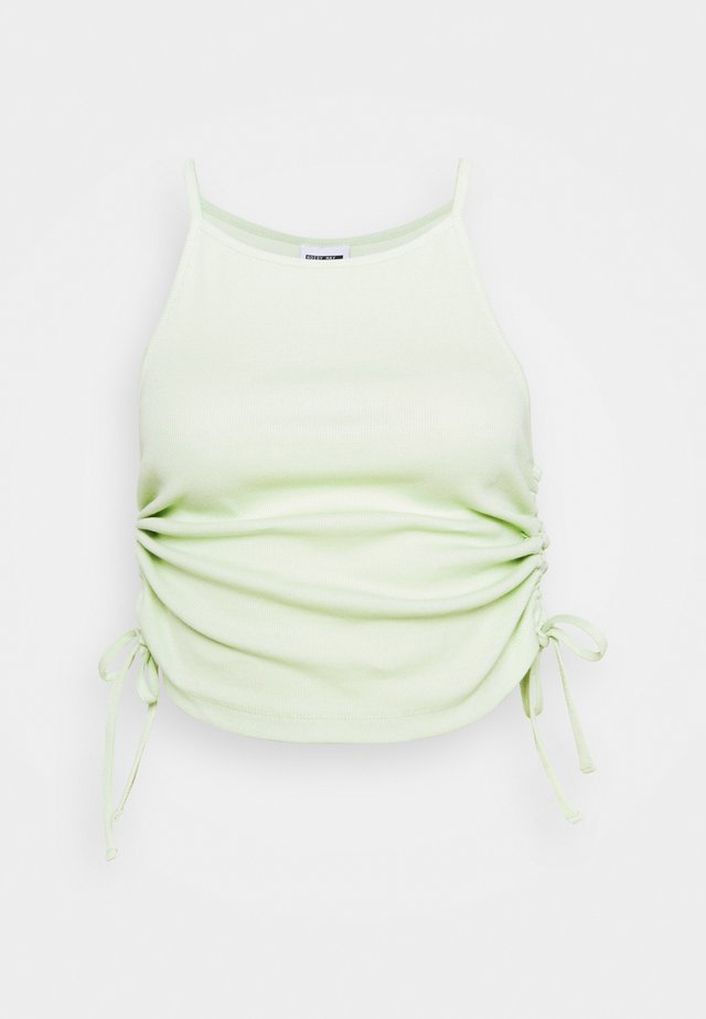 NMSTINE ROUCHING - Topper - fog green
