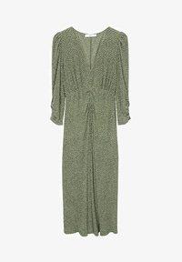 Mango - Day dress - groen - 4