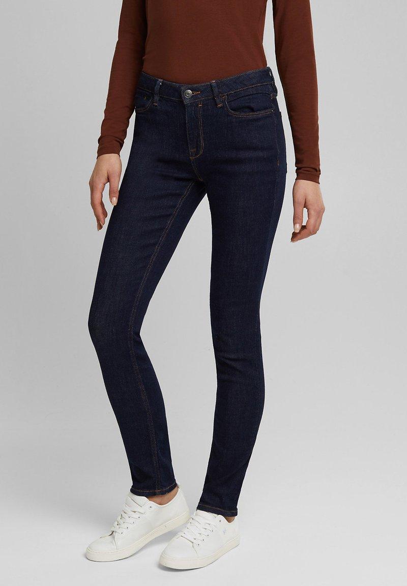 Esprit - FASHION  - Jeans Skinny Fit - blue rinse