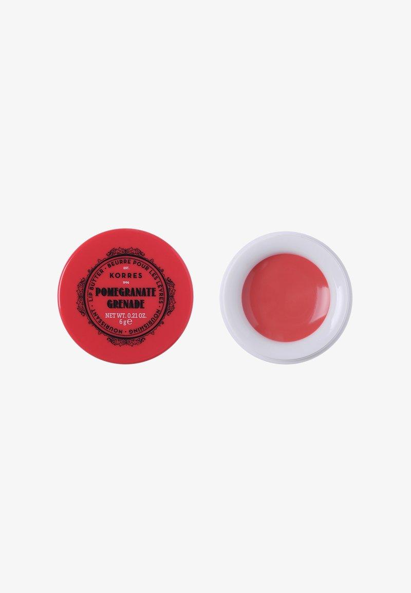 Korres - LIP BUTTER - Balsam do ust - pomegranate