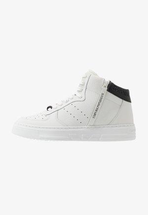 Vysoké tenisky - optical white/black