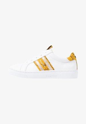 ELEA - Trainers - white/yellow