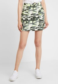 TWINTIP - A-line skirt - green - 0