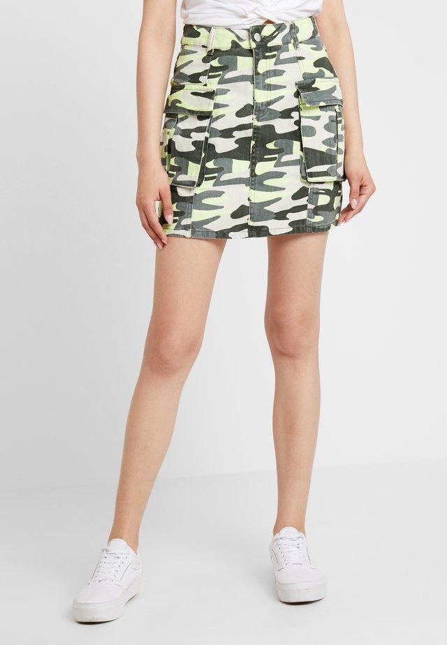 A-snit nederdel/ A-formede nederdele - green