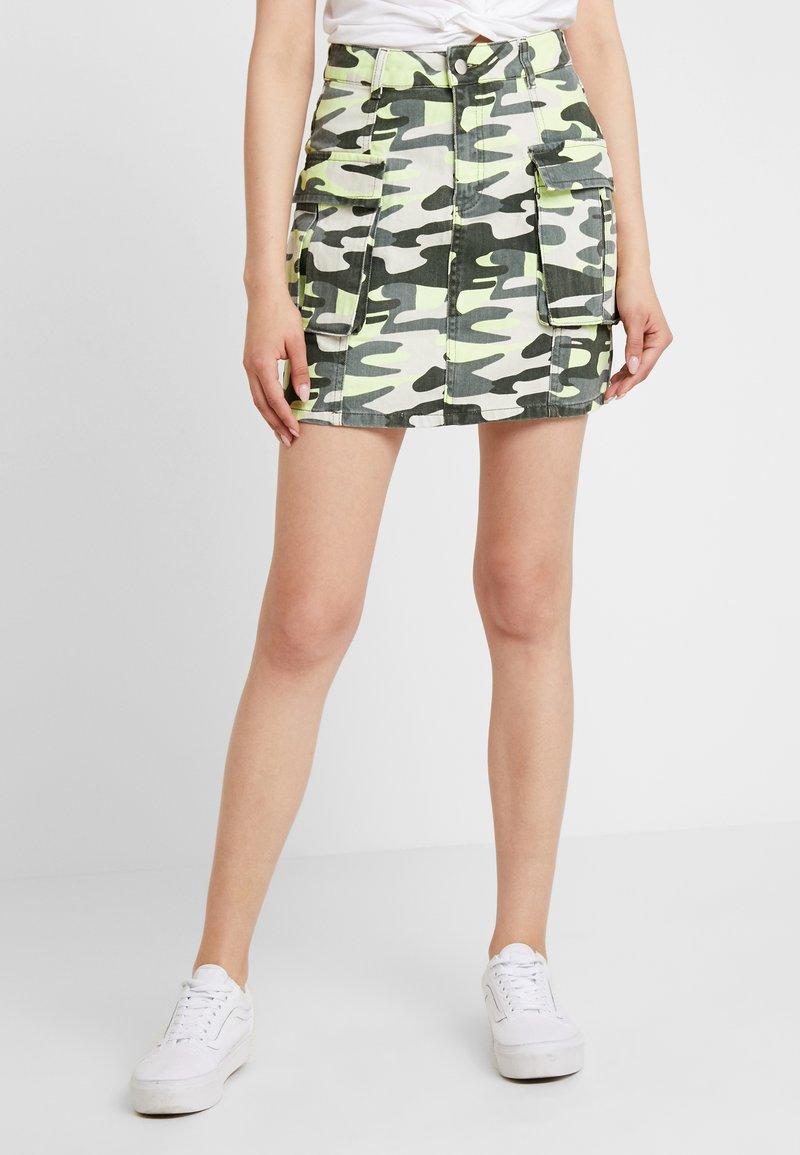 TWINTIP - A-line skirt - green