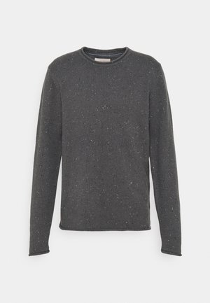 STRUCTURED - Neule - grey