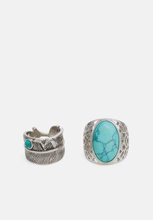 2 PACK - Sormus - silver-coloured