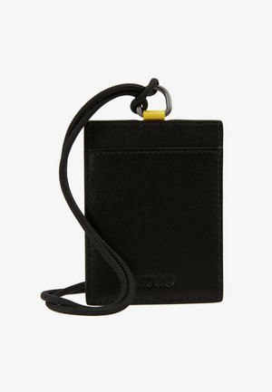 STATEMENT HOLDER - Custodia per biglietti da visita - black